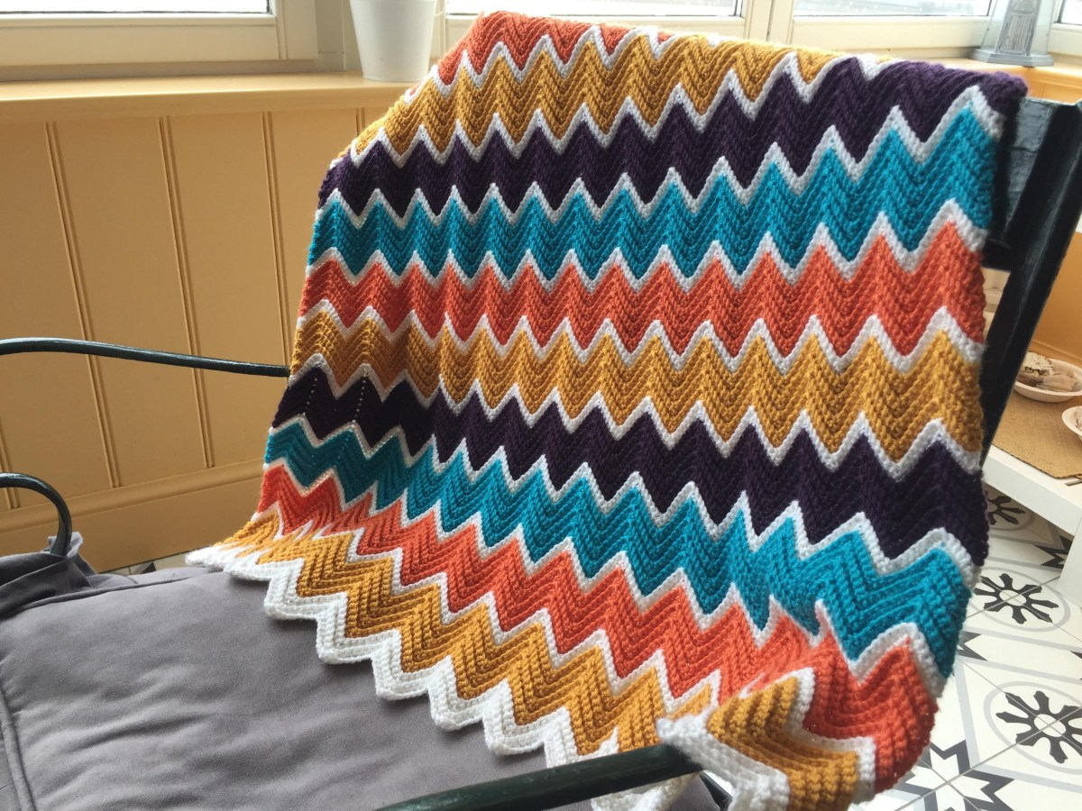 Chevron Baby Blanket Crochet Pattern Another Chevron Ba Blanket On This Sub And My First Finished