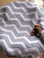 Chevron Baby Blanket Crochet Pattern Crochet Chevron Ba Blanket Gray Fromy Love Design Warmth