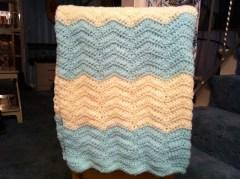 Chevron Baby Blanket Crochet Pattern Design Adventures Chevron Ba Blanket And A Headache