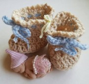 Crochet Baby Cowboy Hat And Boots Pattern Free 15 Adorable Ba Bootie Crochet Patterns