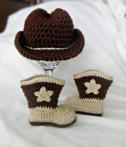 Crochet Baby Cowboy Hat And Boots Pattern Free Free Crochet Pattern Cowboy Hat And Boots Pakbit For