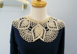 Crochet Collar Pattern Free Crochet Pattern Lace Collar From The Womens Accessories My