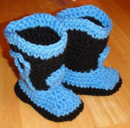 Crochet Cowboy Hat Pattern Free Crochet Pattern For Ba Cowboy Boots And Hat Modern Clothing