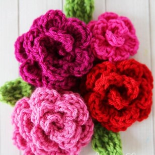 Crochet Flower Patterns Free 25 Crochet Flower Patterns Dabbles Babbles