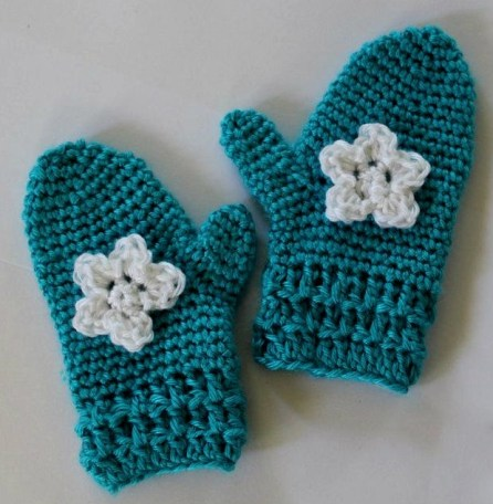 Crochet Mitten Patterns Easy Crochet Mittens 14 Steps With Pictures