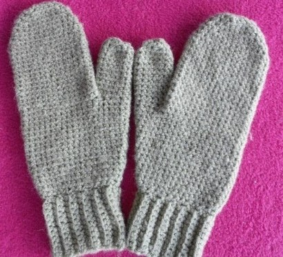 Crochet Mitten Patterns How To Make Simple Mittens In Single Crochet Knitting Crochet