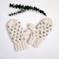 Crochet Mitten Patterns Winter Crochet Patterns Crochet Mitten Pattern Crochet Etsy
