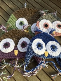 Crochet Owl Hat Pattern Child Owl Hat Kids Crocheted Owl Hat Owl Hat Crocheted Hat
