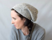Crochet Slouchy Hat Pattern How To Crochet An Easy Slouchy Hat East Village Slouch Mama In