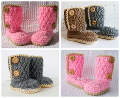 Crochet Sneaker Pattern Crochet Pattern 107 Booties Crochet Pattern Alenasdesign On