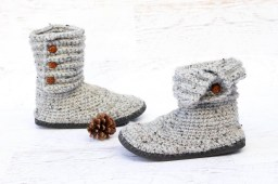 Crochet Sneaker Pattern How To Crochet Boots With Flip Flops Free Pattern Video Tutorial