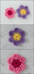 Easy Crochet Flower Pattern 10 Easy Crochet Flower Free Patterns