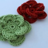 Easy Crochet Flower Pattern 25 Crochet Flower Patterns Dabbles Babbles