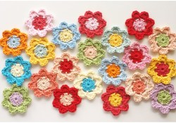 Easy Crochet Flower Pattern Easy Peasy Crochet Flower Pattern Tutorial Stitch And Unwind