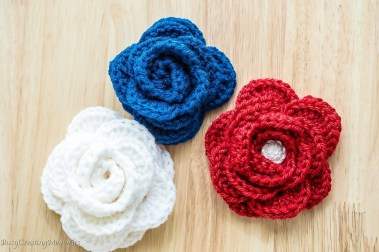 Easy Crochet Flower Pattern Free Easy Crochet Rose Pattern And Video Tutorial