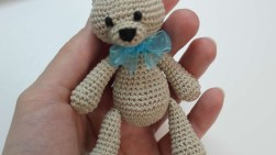 Easy Crochet Teddy Bear Pattern How To Make A Cute Small Crocheted Teddy Bear Diy Crafts Tutorial
