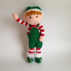 Free Crochet Animal Patterns Heart Sew Christmas Elf Free Crochet Amigurumi Pattern