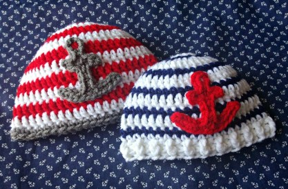 Free Crochet Patterns For Baby Hats 5 Little Monsters Free Crochet Pattern Anchor Ba Hats