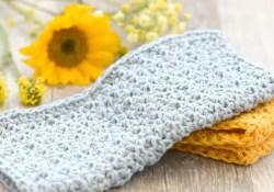 Free Crochet Washcloth Pattern Farm House Washcloth Crochet Pattern Mama In A Stitch
