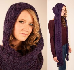 Exclusive Hooded Scarf Crochet Pattern Trendcrochets Com