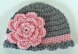 Newborn Crochet Hat Pattern Ba Beanie Crochet Idea 6 12 Months Youtube