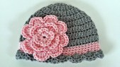Newborn Crochet Hat Pattern Ba Beanie Crochet Idea 6 12 Months Youtube