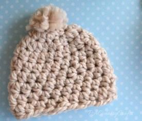 Newborn Crochet Hat Pattern Free Crochet Chunky Newborn Hat Pattern Pakbit For