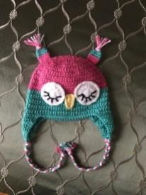 Owl Hat Crochet Pattern Owl Hat Custom Knitting Nanda