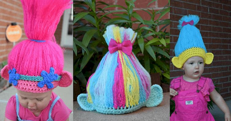 Kids lover their troll hats
