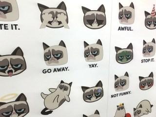 Grumpy Cat Emojis