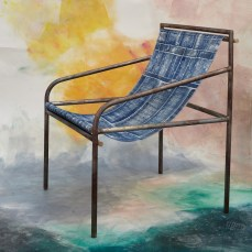 Fabric chair by Assemble and The Granby Workshop