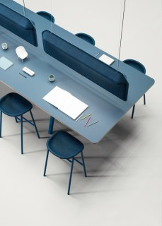 Modular table system by Devorm