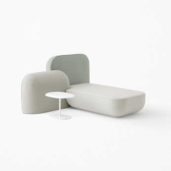 Okome Sofa by Nendo for Alias