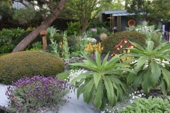 Chris Beardshaw's Gold Award garden