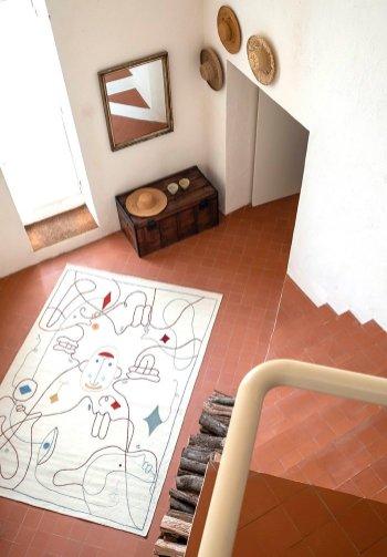 Jamie Hayon rug design for Nanimarquina
