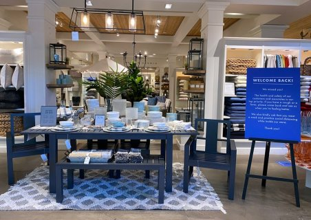 We Missed You: Pottery Barn