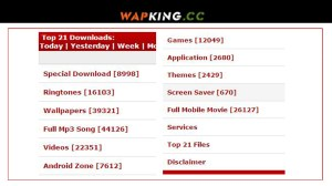 WapKing – Mp3 Music | Mp4 Videos | Games