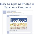 Upload Photos on Facebook Comment