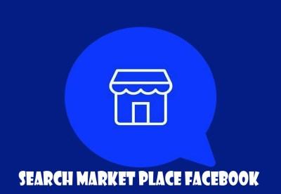 Search Market Place Facebook - Facebook Marketplace