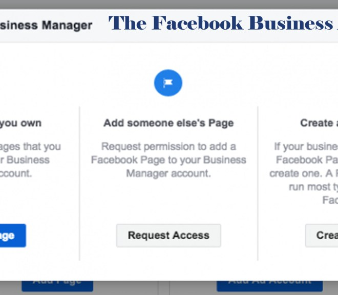 The Facebook Business Account – Facebook Business