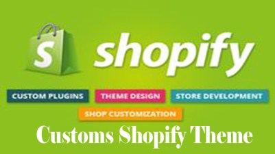 Customs Shopify Theme - Shopify Themes | Shopify Account | Shopify