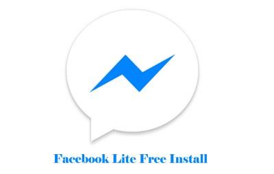 Facebook Lite Free Install - Facebook Lite App | Facebook Apps