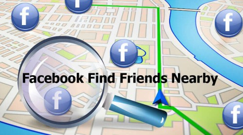 Facebook Find Friends Nearby - Facebook Search Bar