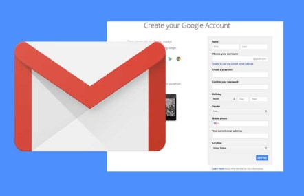Create Gmail Account - Creating a Gmail Account