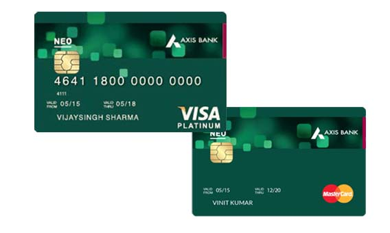 Neo Credit Card – Redeem Reward Points On Axis Bank Credit Card | Apply For Neo Credit Card