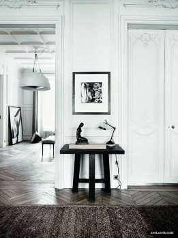 A Beautiful All White Apartment In Modern Style 34