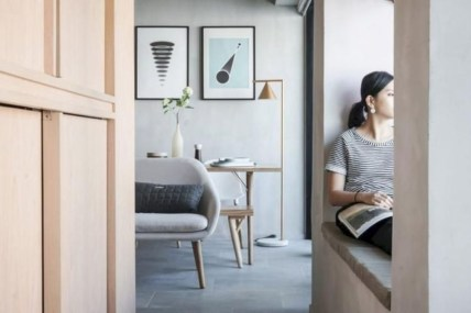 Apartment With Artistic Japanese Style Design 11
