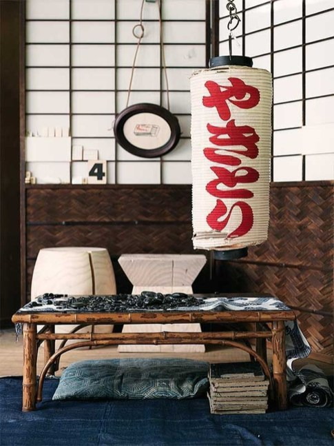 Apartment With Artistic Japanese Style Design 16