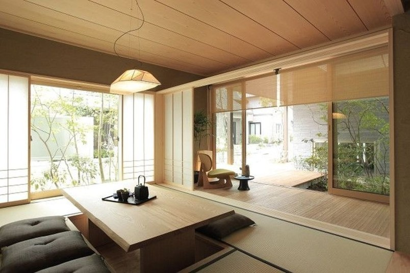 Apartment With Artistic Japanese Style Design 24