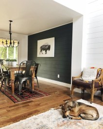 Best Living Room Ideas With Black Walls 40